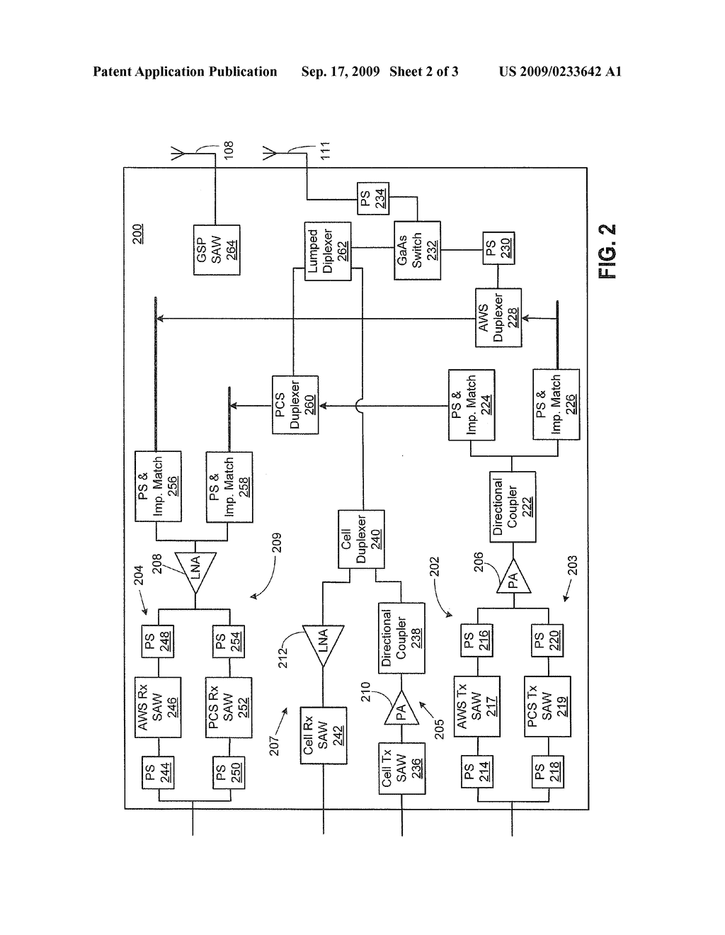Multiple Band Radio Frequency Rf Circuit And Method For A Wireless Doorbell Schematic Communication Device Diagram Image 03