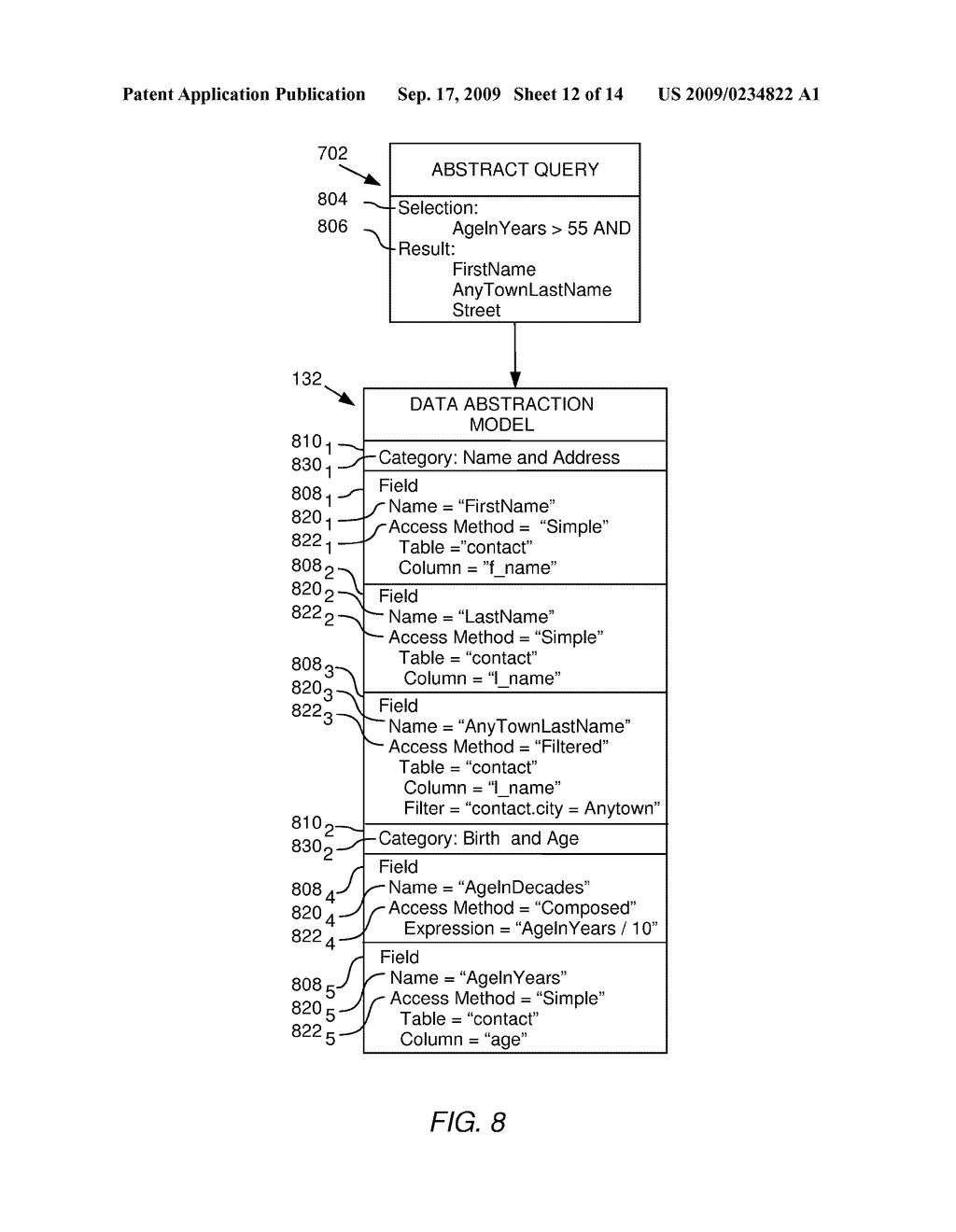 SORTING DATA RECORDS CONTAINED IN A QUERY RESULT - diagram, schematic, and image 13