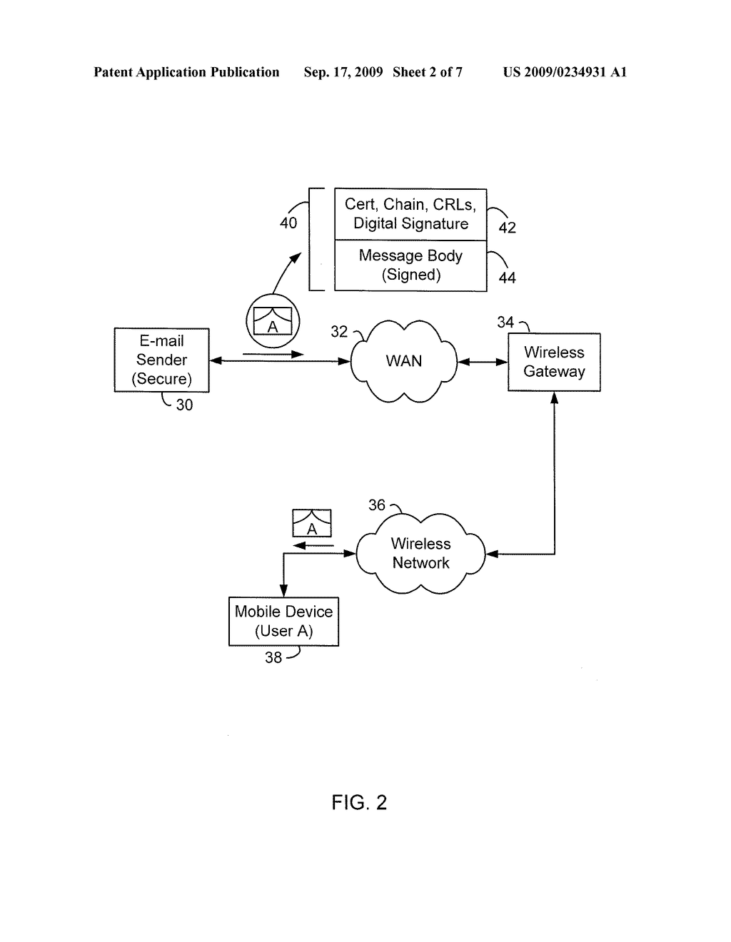 System and Method for Selecting Messaging Settings On A Messaging Client - diagram, schematic, and image 03