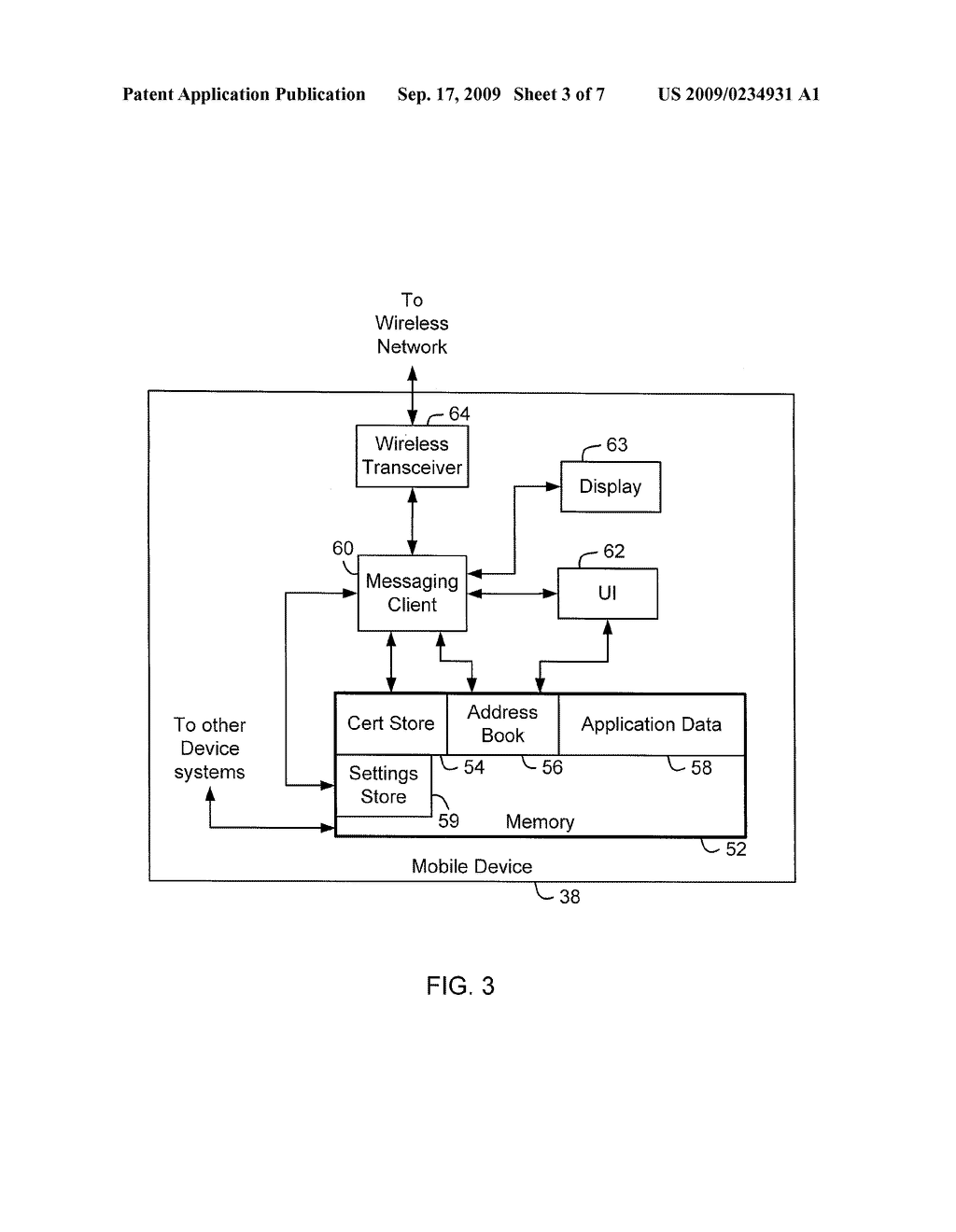 System and Method for Selecting Messaging Settings On A Messaging Client - diagram, schematic, and image 04