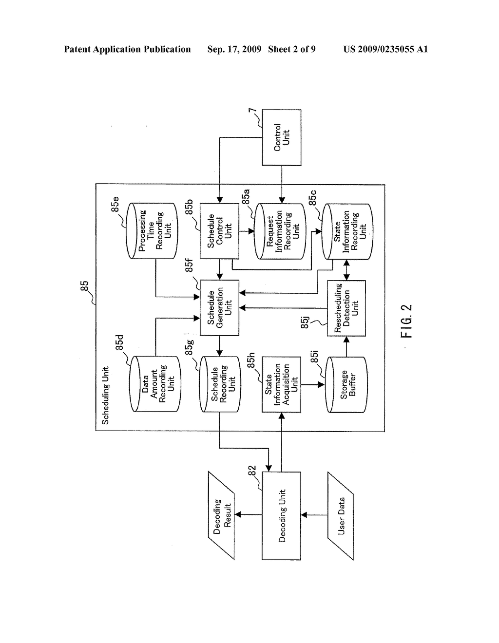 SCHEDULING APPARATUS AND SCHEDULING METHOD - diagram, schematic, and image 03