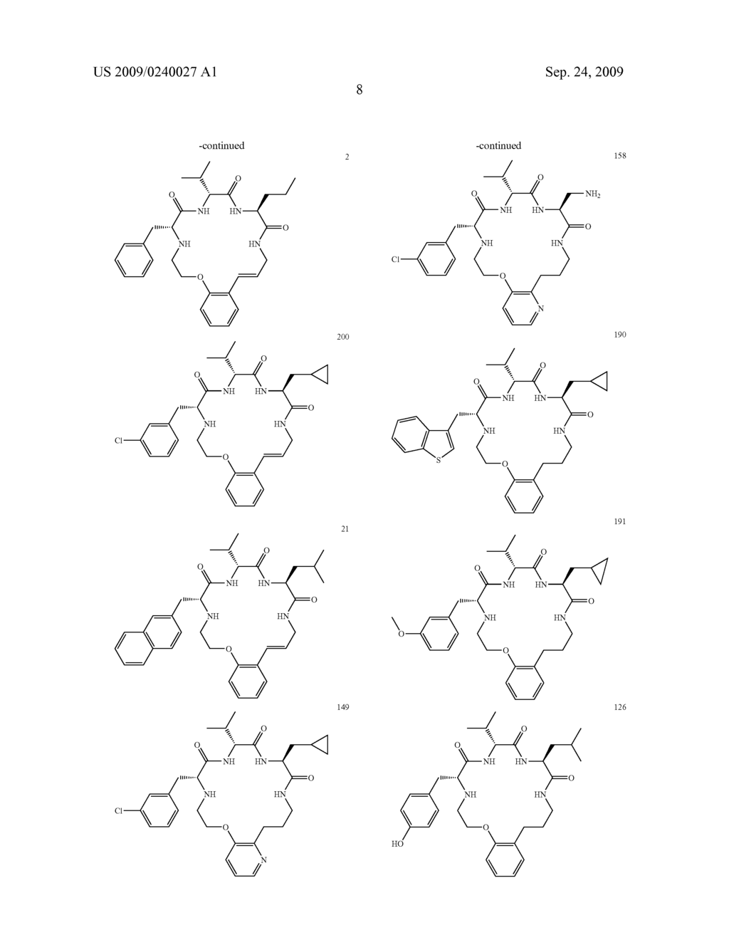 INTERMEDIATES FOR MACROCYCLIC COMPOUNDS - diagram, schematic, and image 30