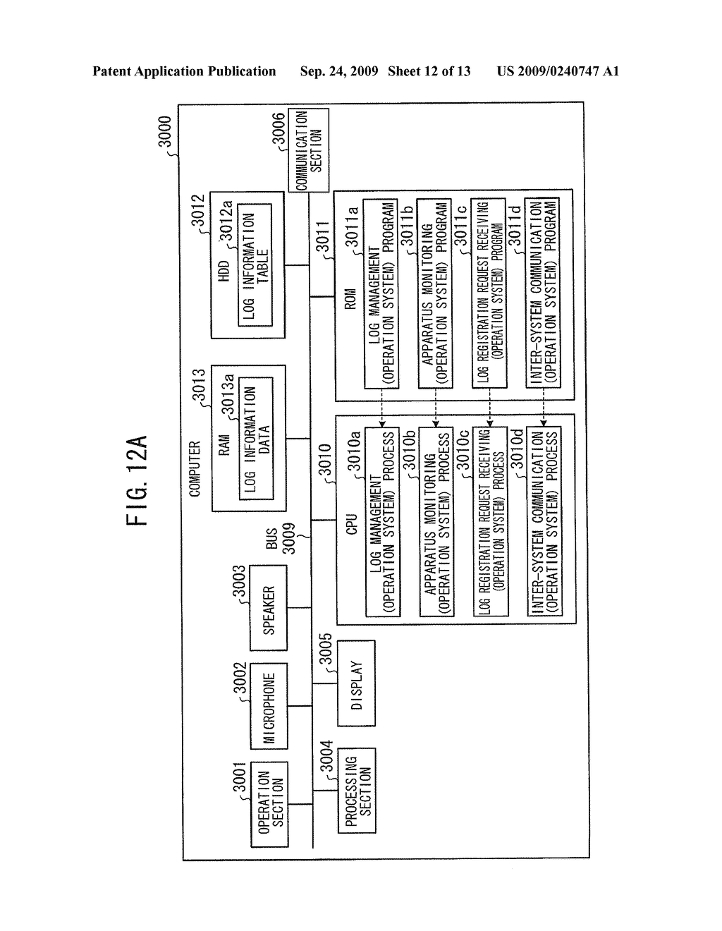 INFORMATION PROCESSING APPARATUS, INFORMATION PROCESSING METHOD, AND RECORDING MEDIUM THAT RECORDS HISTORY INFORMATION CONTROL PROGRAM - diagram, schematic, and image 13