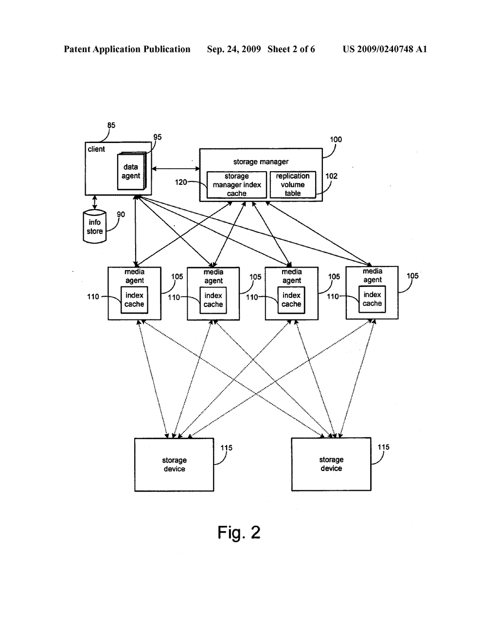 SYSTEM AND METHOD FOR PERFORMING AN IMAGE LEVEL SNAPSHOT AND FOR RESTORING PARTIAL VOLUME DATA - diagram, schematic, and image 03