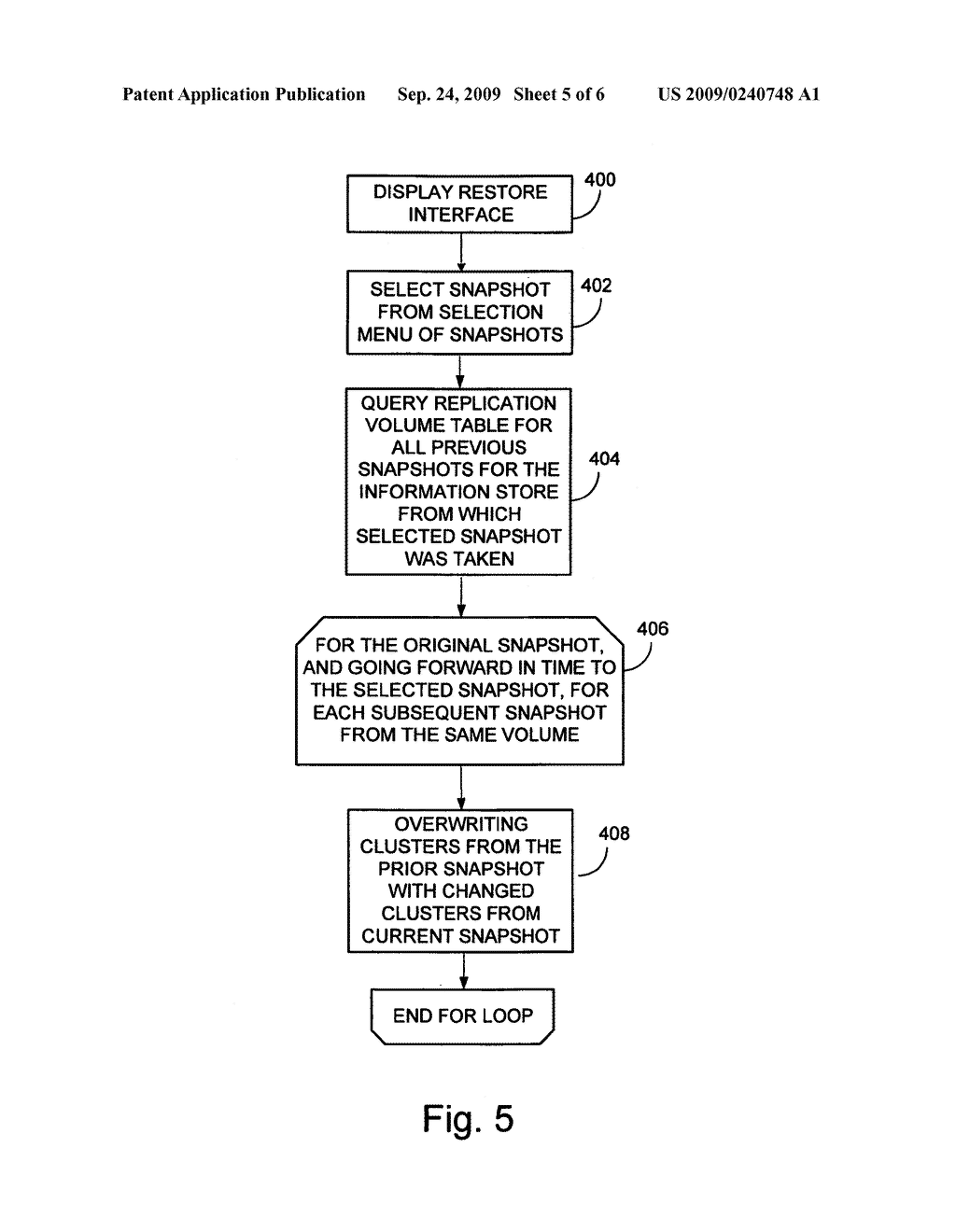 SYSTEM AND METHOD FOR PERFORMING AN IMAGE LEVEL SNAPSHOT AND FOR RESTORING PARTIAL VOLUME DATA - diagram, schematic, and image 06