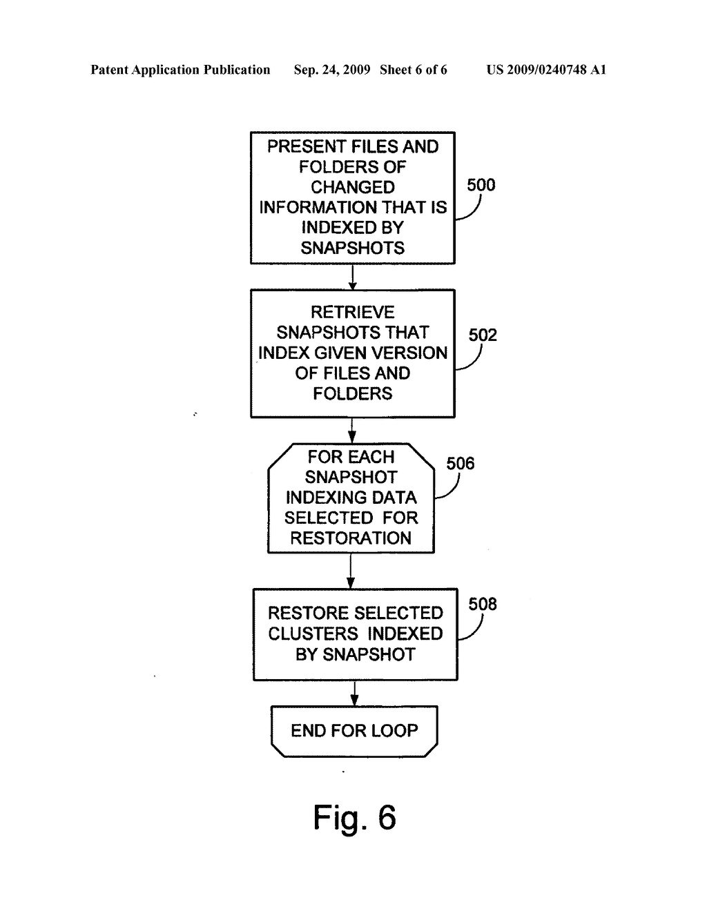 SYSTEM AND METHOD FOR PERFORMING AN IMAGE LEVEL SNAPSHOT AND FOR RESTORING PARTIAL VOLUME DATA - diagram, schematic, and image 07