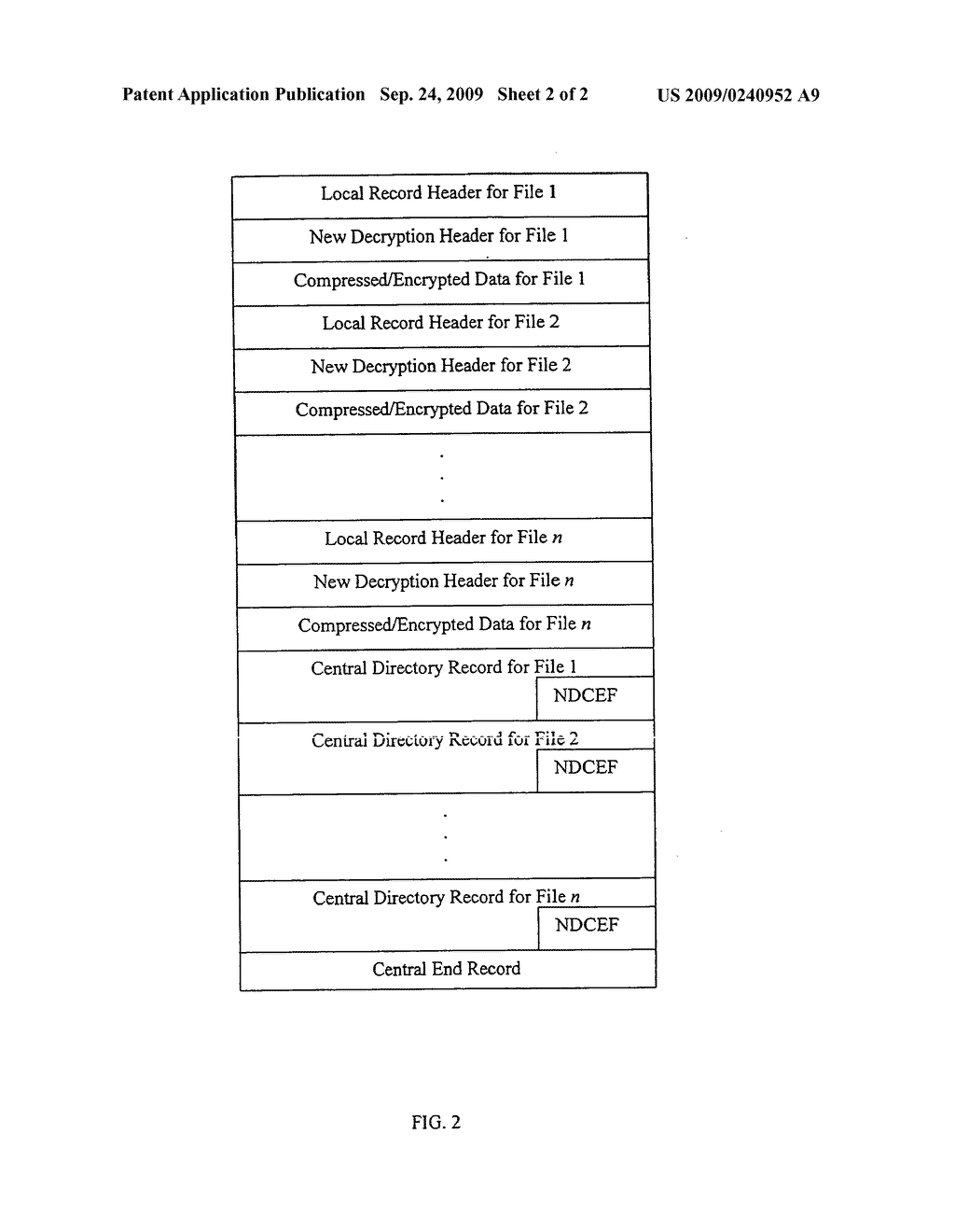 Method and system for decryption of file characteristics of .ZIP files - diagram, schematic, and image 03