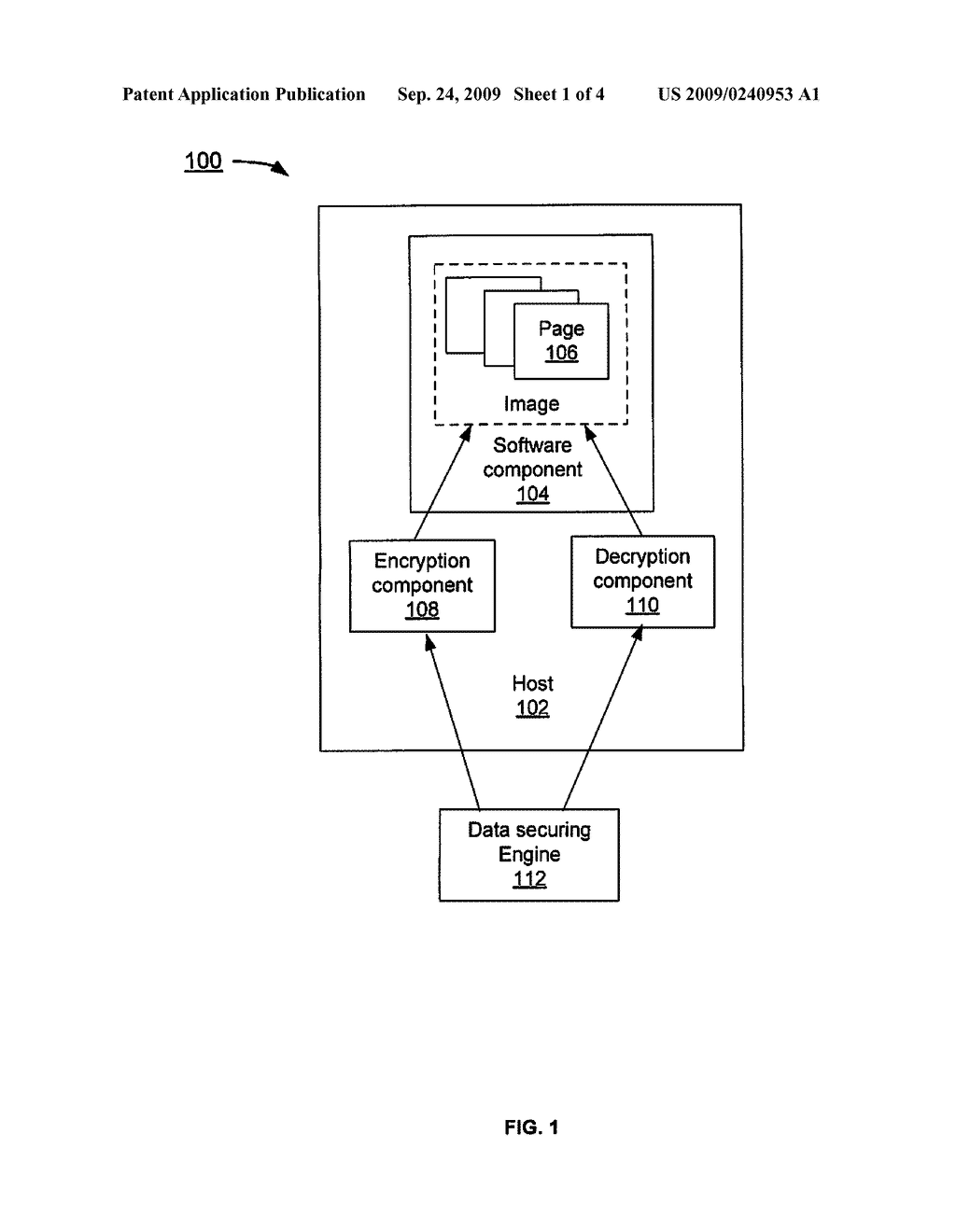ON-DISK SOFTWARE IMAGE ENCRYPTION - diagram, schematic, and image 02