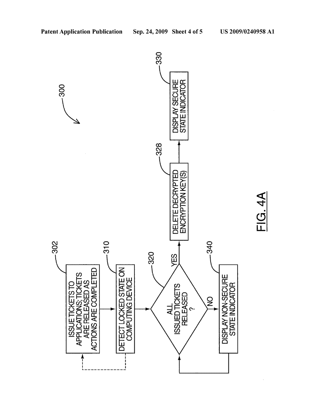 SYSTEM AND METHOD FOR GENERATING A SECURE STATE INDICATOR ON A DISPLAY - diagram, schematic, and image 05