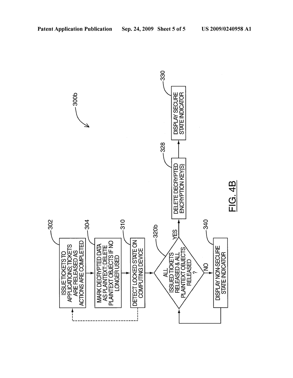 SYSTEM AND METHOD FOR GENERATING A SECURE STATE INDICATOR ON A DISPLAY - diagram, schematic, and image 06