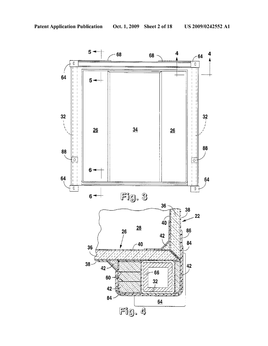 iso container having a load transfer plate - diagram, schematic, and image  03