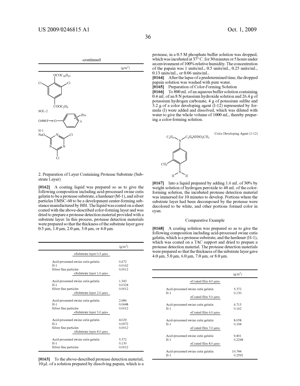 PROTEASE DETECTION MATERIAL, SET OF PROTEASE DETECTION MATERIALS, AND METHOD FOR MEASURING PROTEASE - diagram, schematic, and image 37