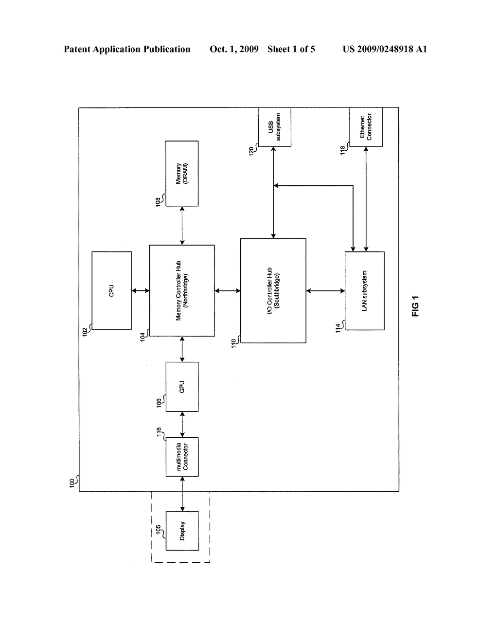 METHOD AND SYSTEM FOR A USB ETHERTYPE TO TUNNEL USB OVER ETHERNET - diagram, schematic, and image 02