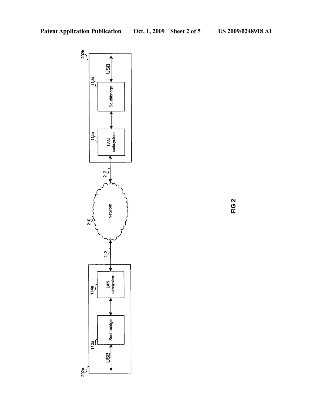 METHOD AND SYSTEM FOR A USB ETHERTYPE TO TUNNEL USB OVER ETHERNET - diagram, schematic, and image 03