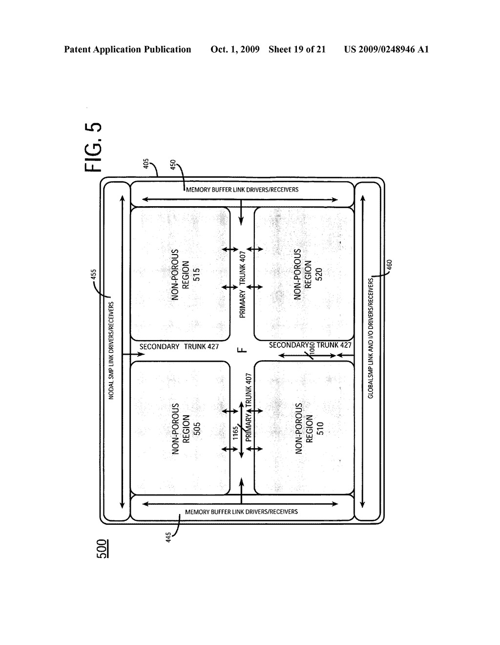 Information Handling System Including Multiple Compute Element Processor With Primary And Secondary Interconnect Trunks - diagram, schematic, and image 20