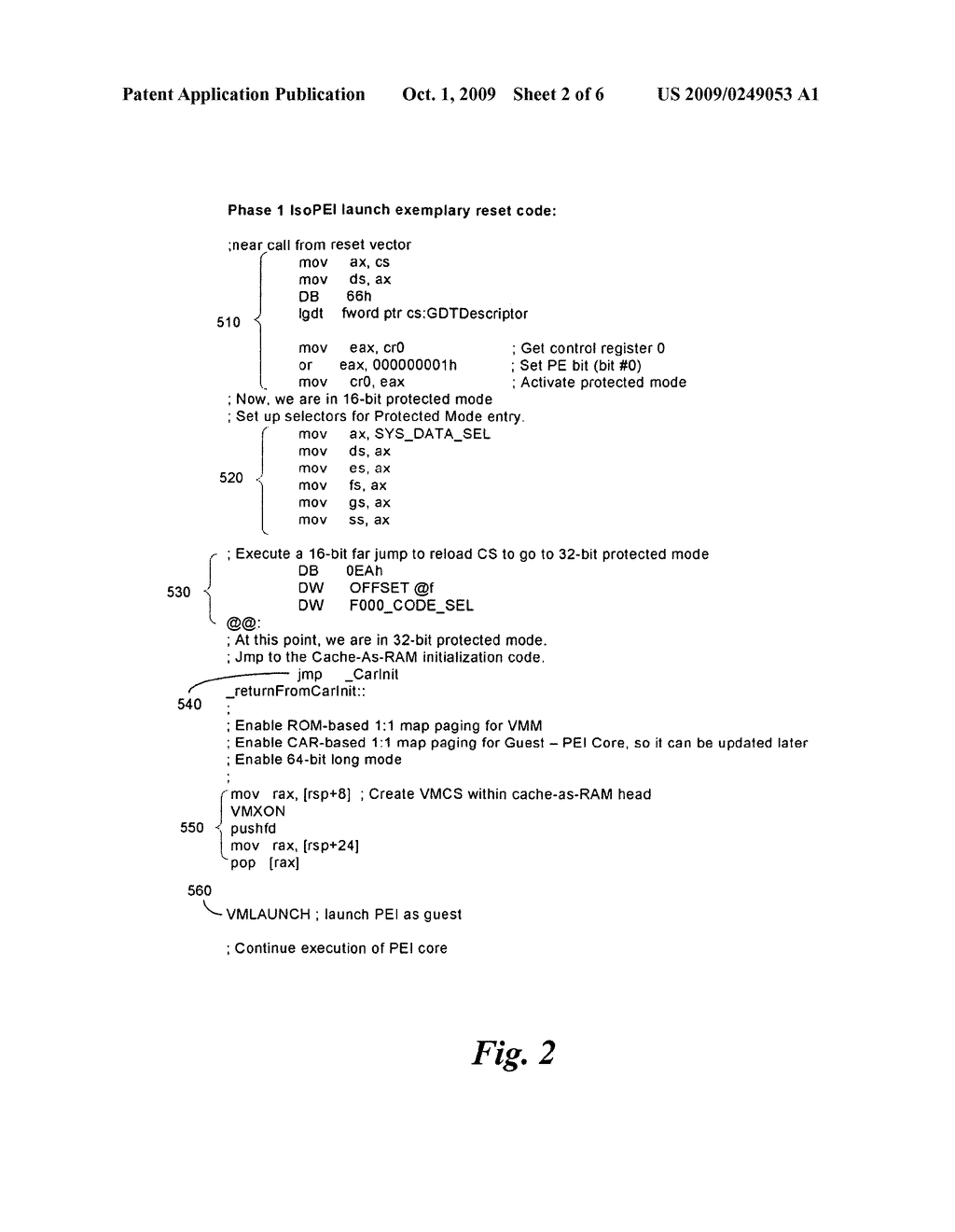 METHOD AND APPARATUS FOR SEQUENTIAL HYPERVISOR INVOCATION - diagram, schematic, and image 03