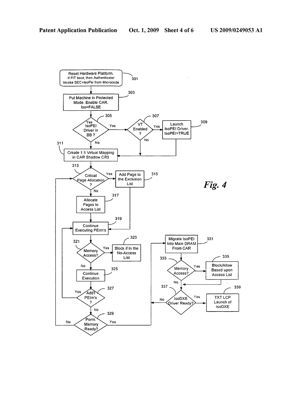 METHOD AND APPARATUS FOR SEQUENTIAL HYPERVISOR INVOCATION - diagram, schematic, and image 05