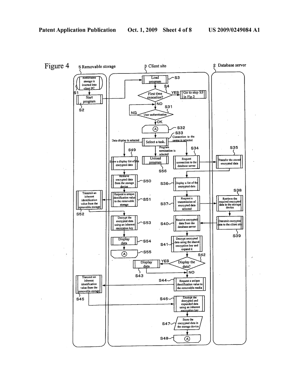 REMOVABLE STORAGE DEVICE AND ASSOCIATED METHODOLOGY OF DATA ENCRYPTION - diagram, schematic, and image 05