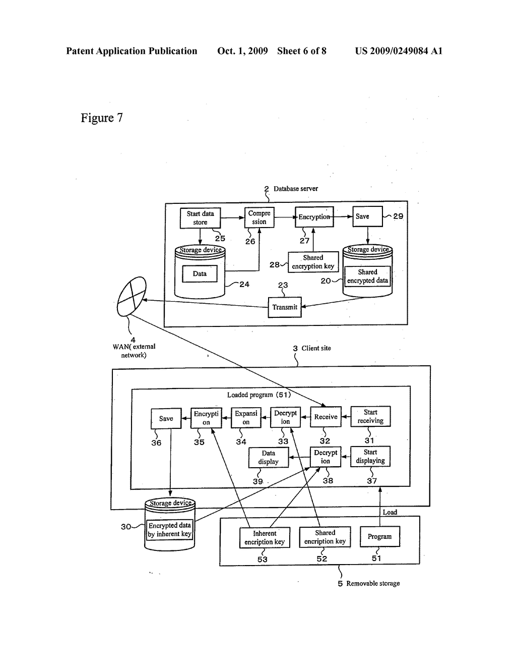 REMOVABLE STORAGE DEVICE AND ASSOCIATED METHODOLOGY OF DATA ENCRYPTION - diagram, schematic, and image 07