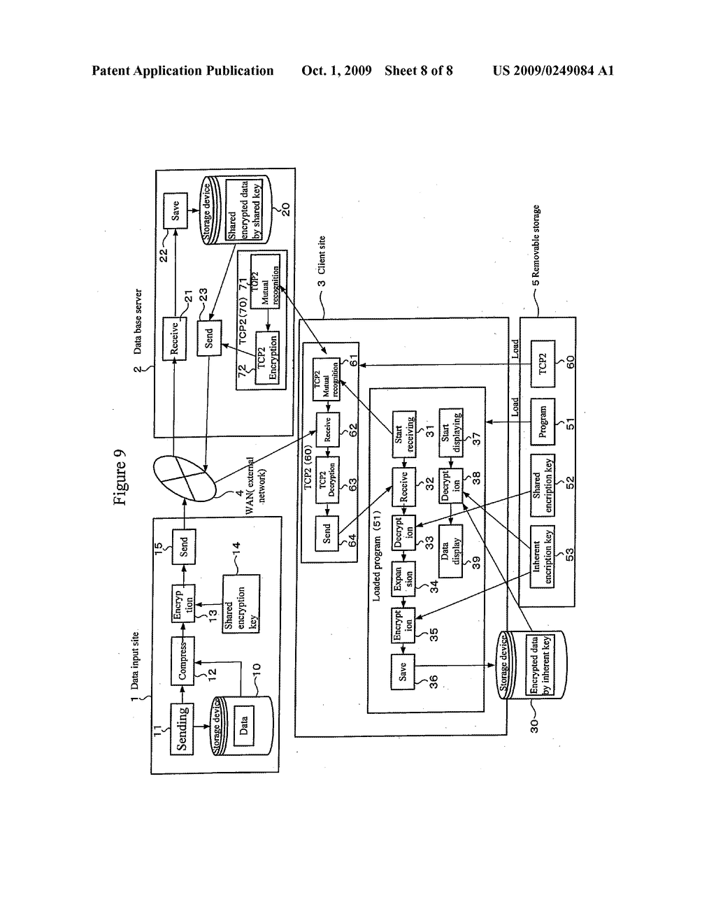 REMOVABLE STORAGE DEVICE AND ASSOCIATED METHODOLOGY OF DATA ENCRYPTION - diagram, schematic, and image 09