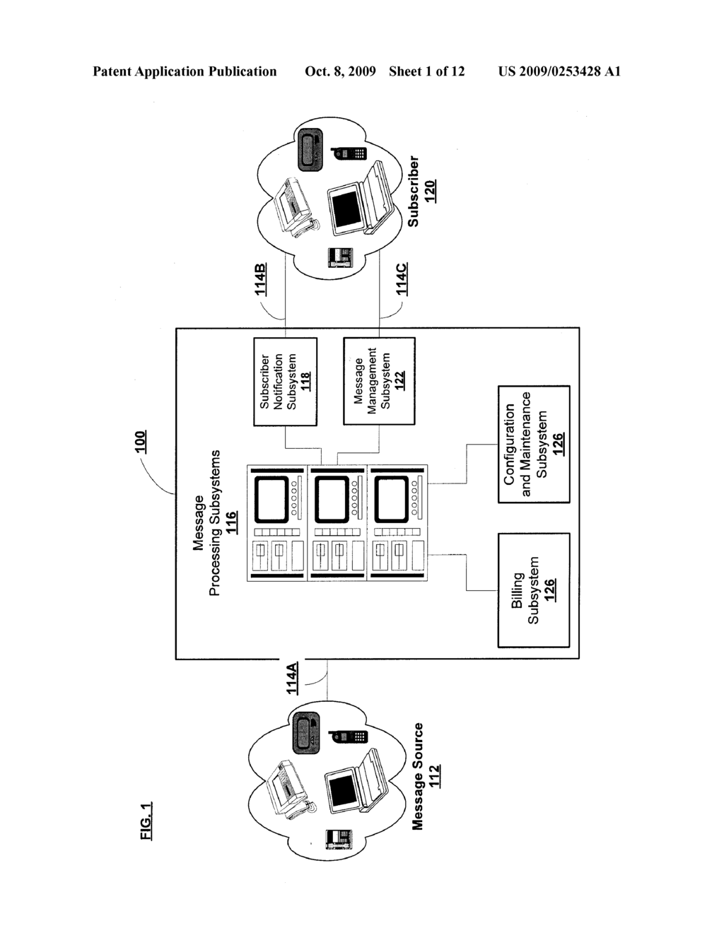 Communications Systems And Methods For Exchanging Messages Between Users - diagram, schematic, and image 02