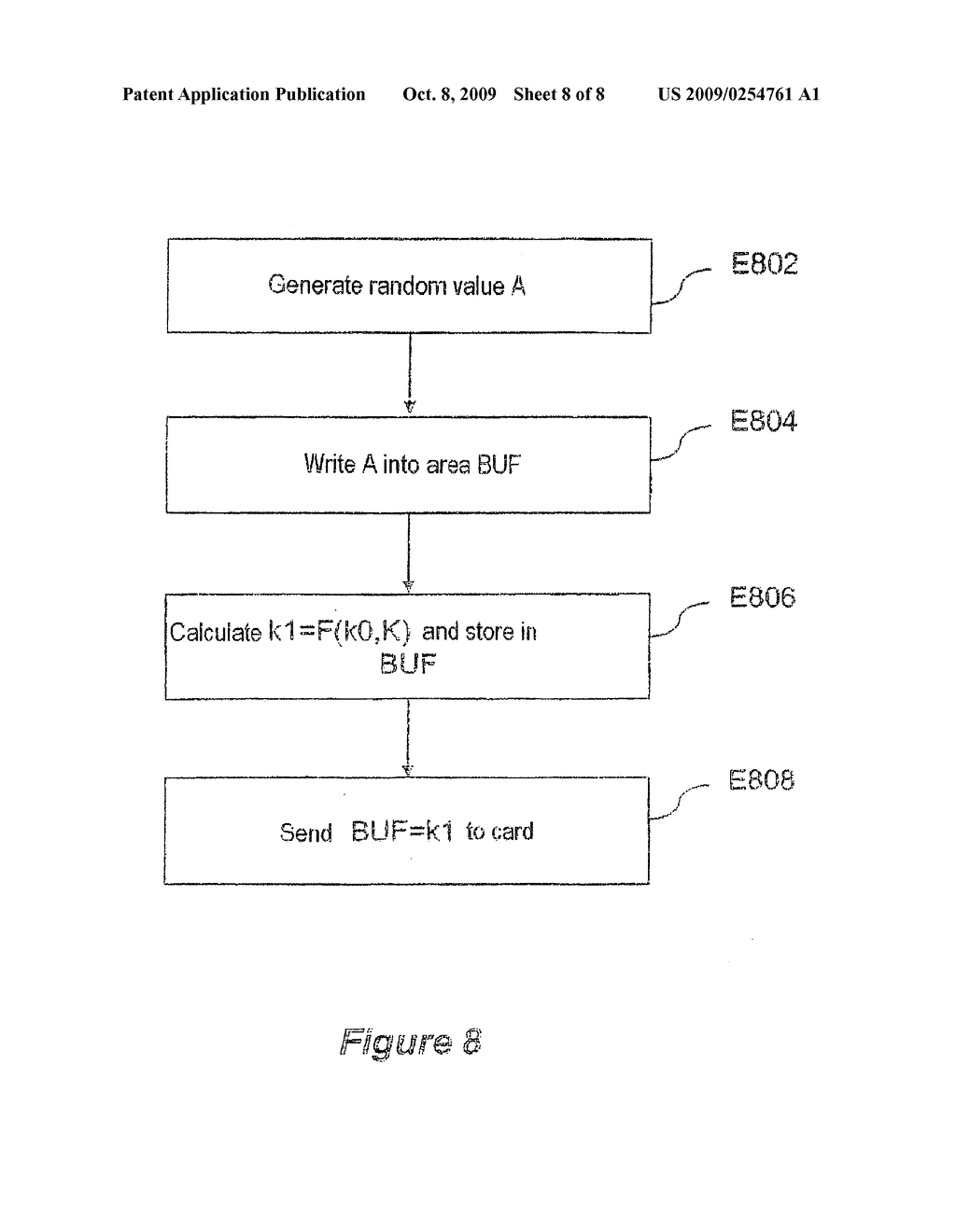 Secure data processing method and associated device - diagram, schematic, and image 09
