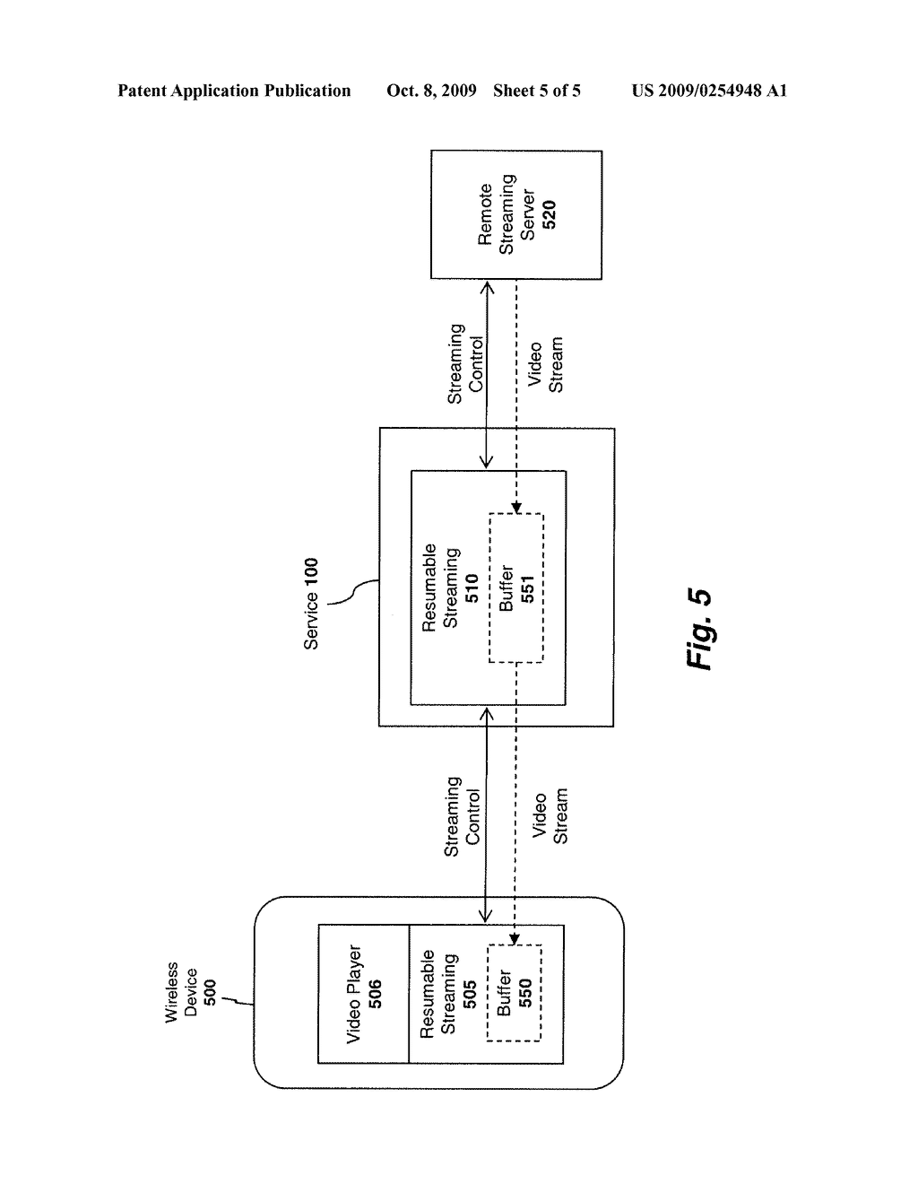System And Method For Streaming Video Over A Wireless Network Netowrk Diagram Schematic Image 06