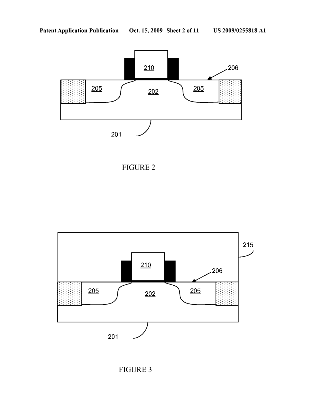 METHOD FOR MONITORING PATTERNING INTEGRITY OF ETCHED OPENINGS AND FORMING CONDUCTIVE STRUCTURES WITH THE OPENINGS - diagram, schematic, and image 03