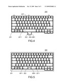 KEYBOARD WITH OPTICAL CURSOR CONTROL DEVICE diagram and image