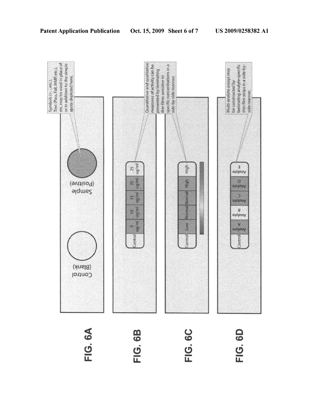 Novel devices for the detection of the presence and/or activity of proteases in biological samples - diagram, schematic, and image 07