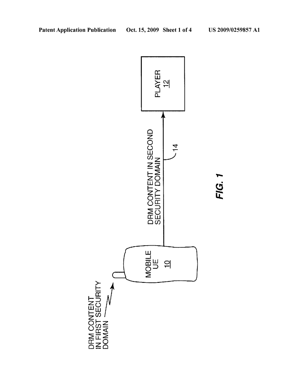 System and Method for Efficient Security Domain Translation and Data Transfer - diagram, schematic, and image 02
