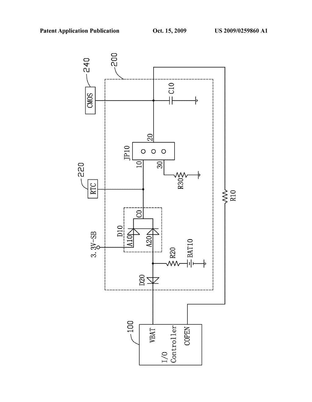 POWER SUPPLY CIRCUIT FOR MOTHERBOARD - diagram, schematic, and image 02