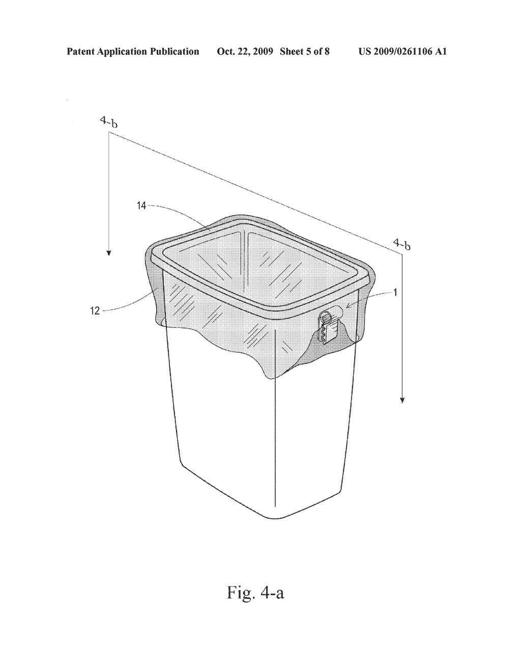 Apparatus for Holding Trash Can Liners in Place - diagram, schematic, and image 06
