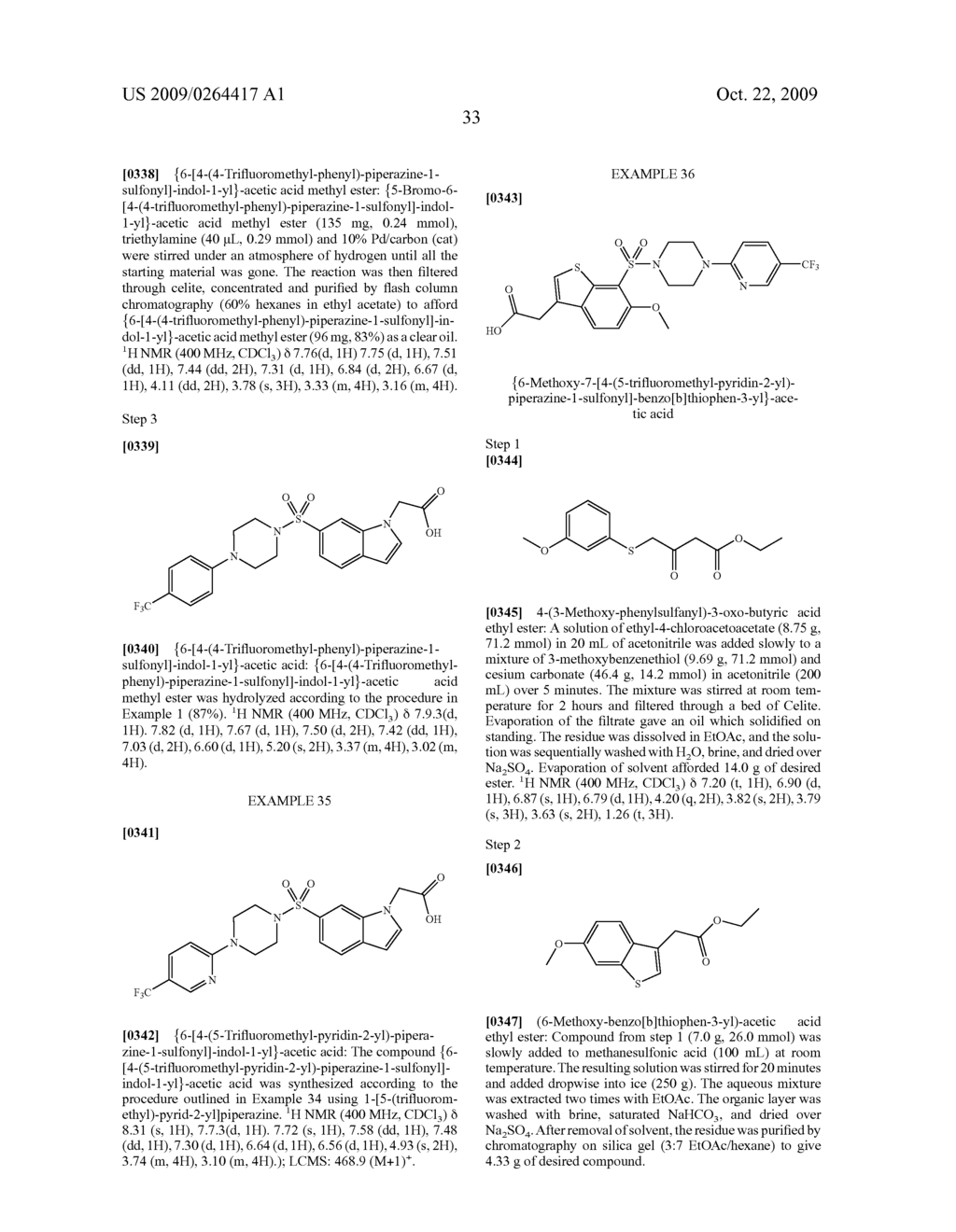 SULFONYL-SUBSTITUTED BICYCLIC COMPOUNDS AS MODULATORS OF PPAR - diagram, schematic, and image 34