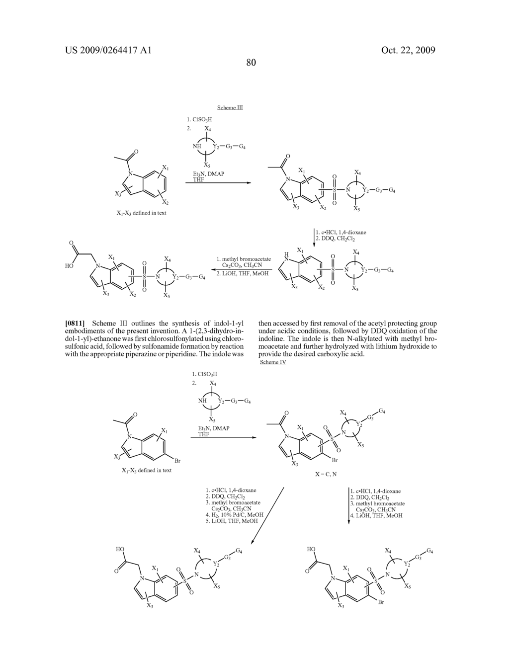 SULFONYL-SUBSTITUTED BICYCLIC COMPOUNDS AS MODULATORS OF PPAR - diagram, schematic, and image 81