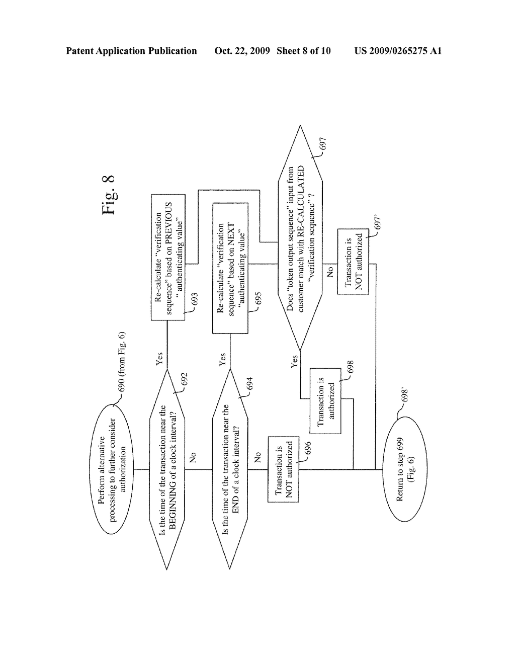 SYSTEMS AND METHODS FOR TIME VARIABLE FINANCIAL AUTHENTICATION - diagram, schematic, and image 09