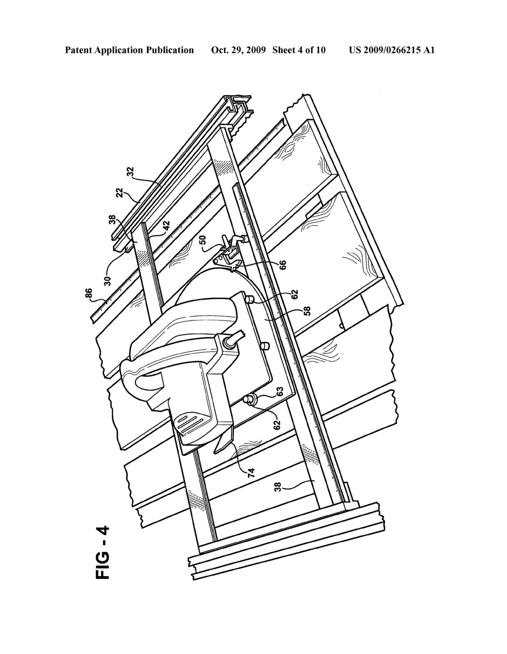 PORTABLE SAW TABLE ASSEMBLY - diagram, schematic, and image 05