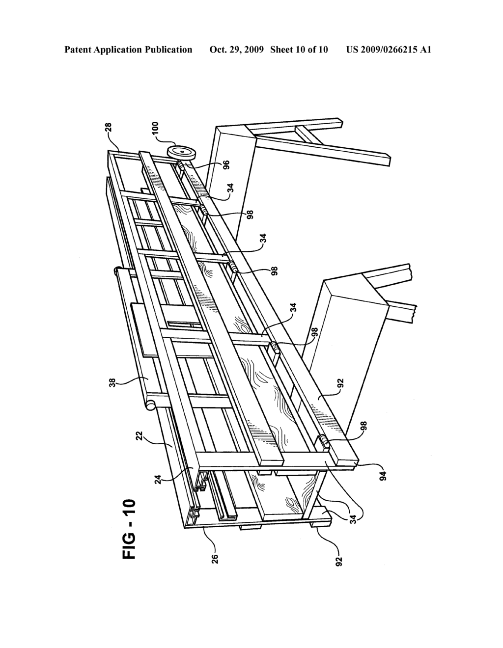 PORTABLE SAW TABLE ASSEMBLY - diagram, schematic, and image 11