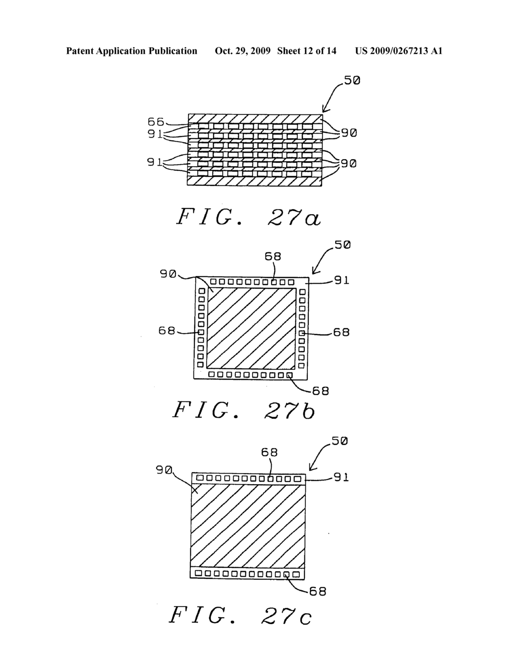 Structure and manufacturing method of a chip scale package with low fabrication cost, fine pitch and high reliability solder bump - diagram, schematic, and image 13