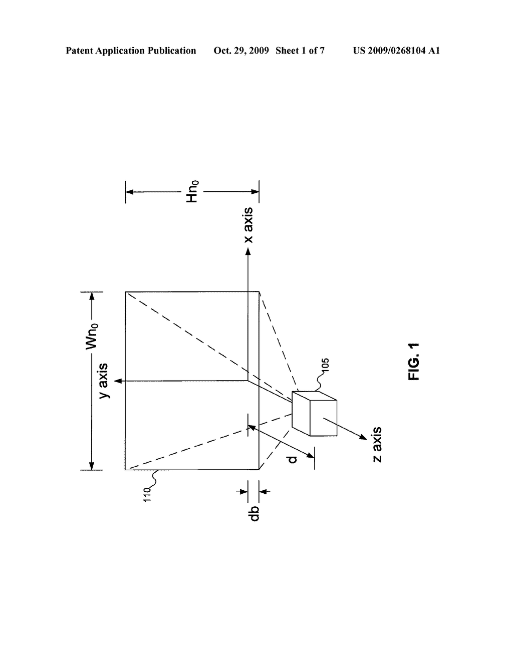 KEYSTONE CORRECTION DERIVED FROM THE PARAMETERS OF PROJECTORS - diagram, schematic, and image 02
