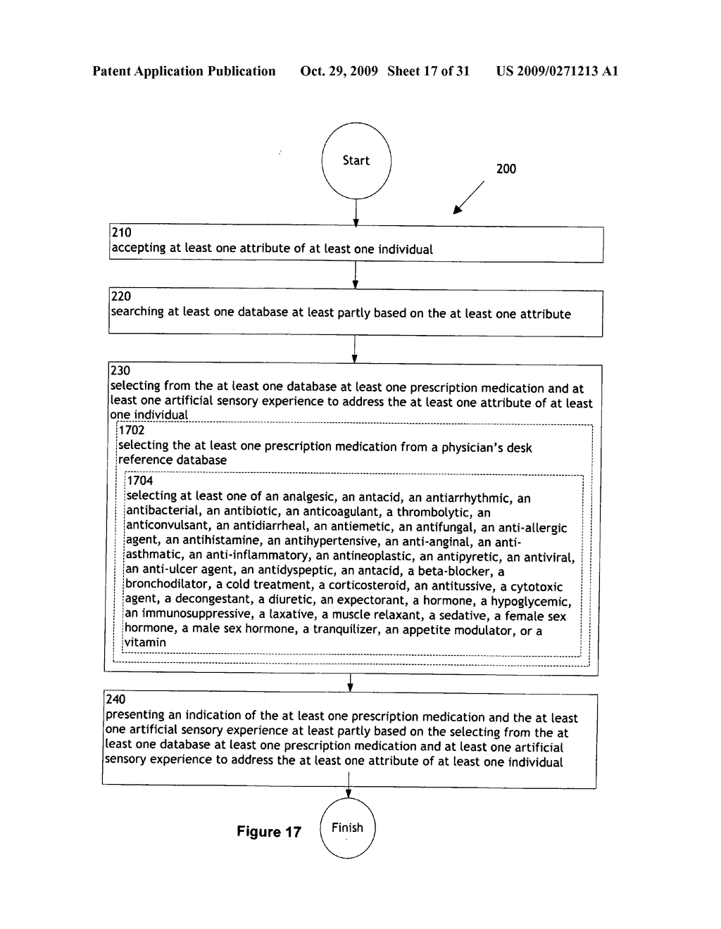 Combination treatment selection methods and systems - diagram, schematic, and image 18