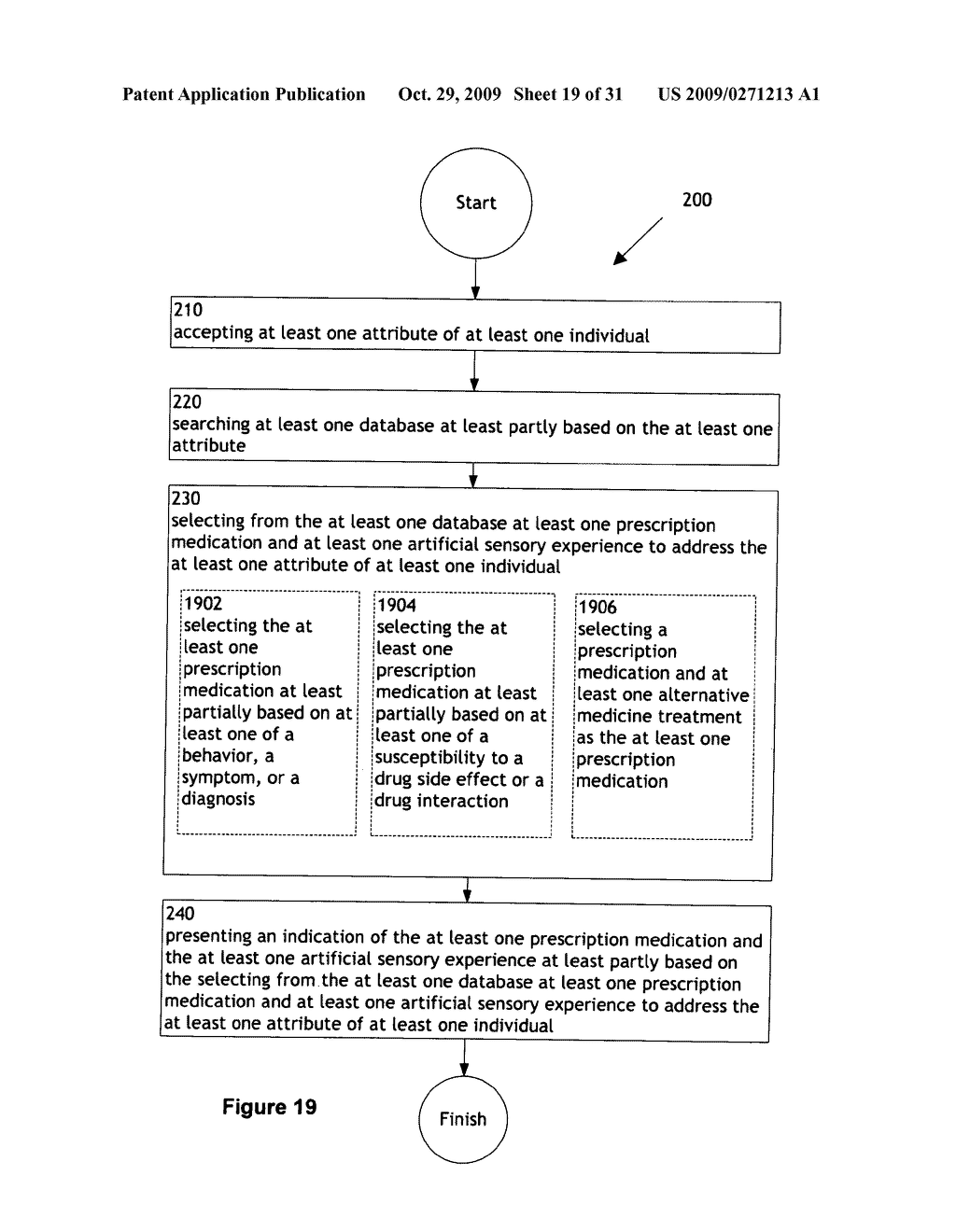 Combination treatment selection methods and systems - diagram, schematic, and image 20