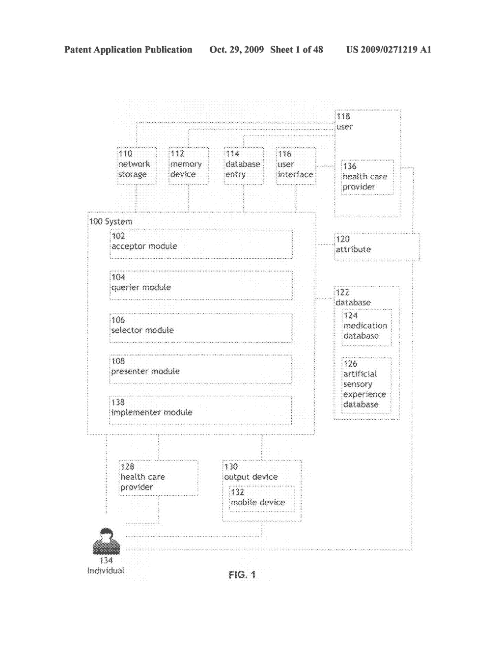 Methods and systems for presenting a combination treatment - diagram, schematic, and image 02