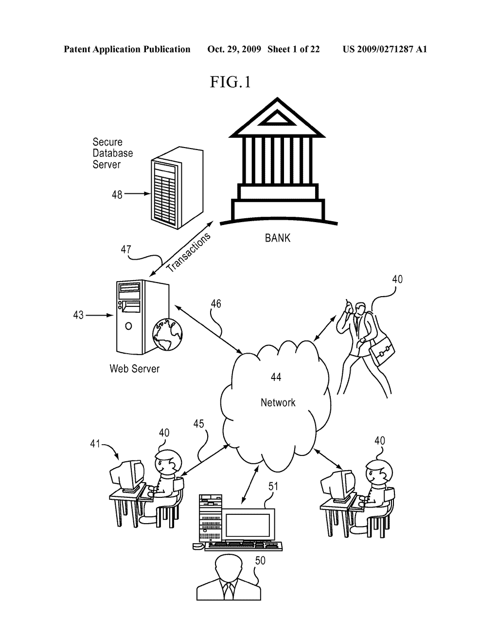 FINANCIAL LIFESTYLE NAVIGATOR AND BANKING SYSTEM - diagram