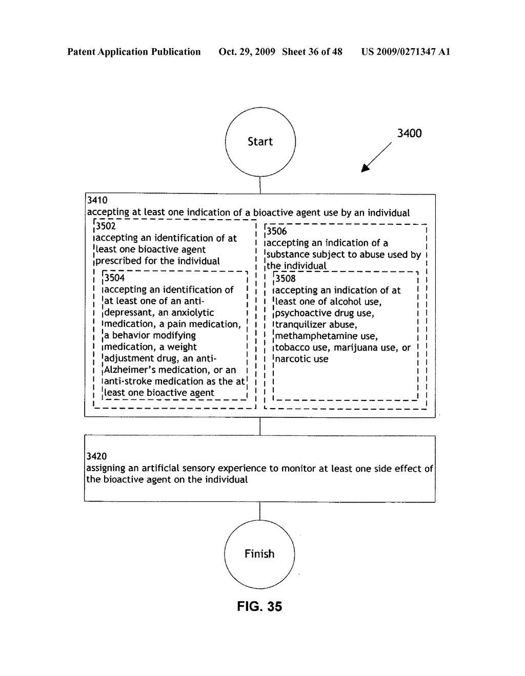 Methods and systems for monitoring bioactive agent use - diagram, schematic, and image 37