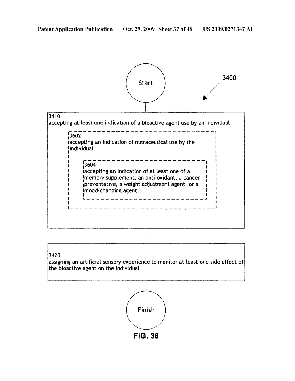 Methods and systems for monitoring bioactive agent use - diagram, schematic, and image 38