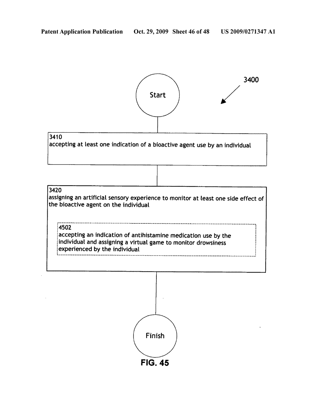 Methods and systems for monitoring bioactive agent use - diagram, schematic, and image 47