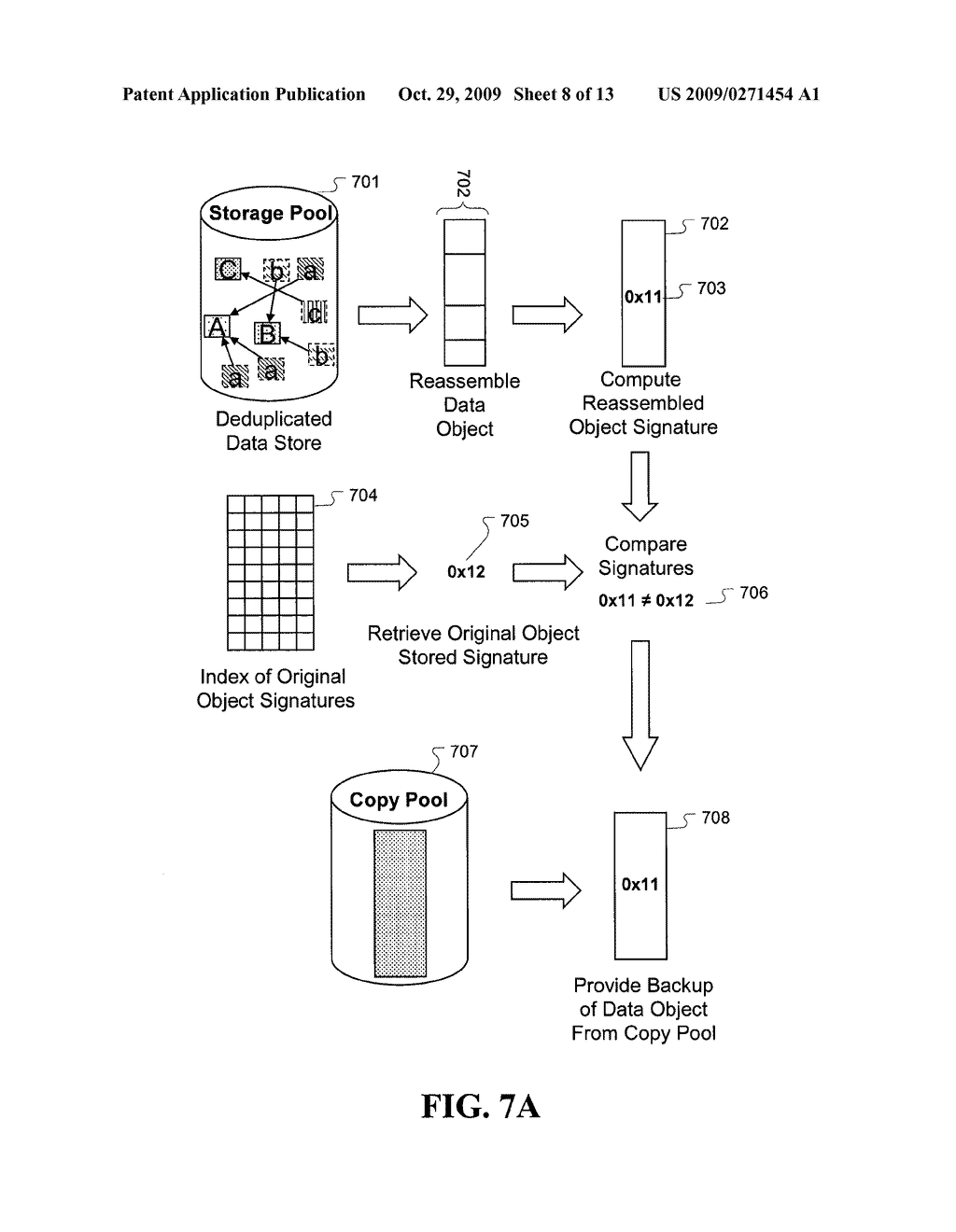 Enhanced method and system for assuring integrity of deduplicated data - diagram, schematic, and image 09