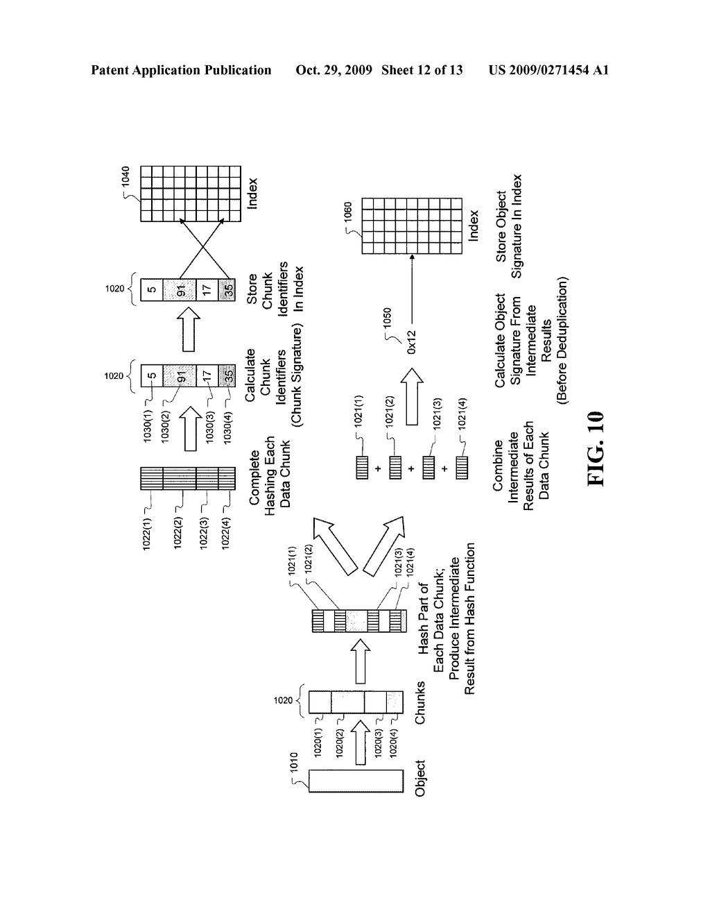 Enhanced method and system for assuring integrity of deduplicated data - diagram, schematic, and image 13