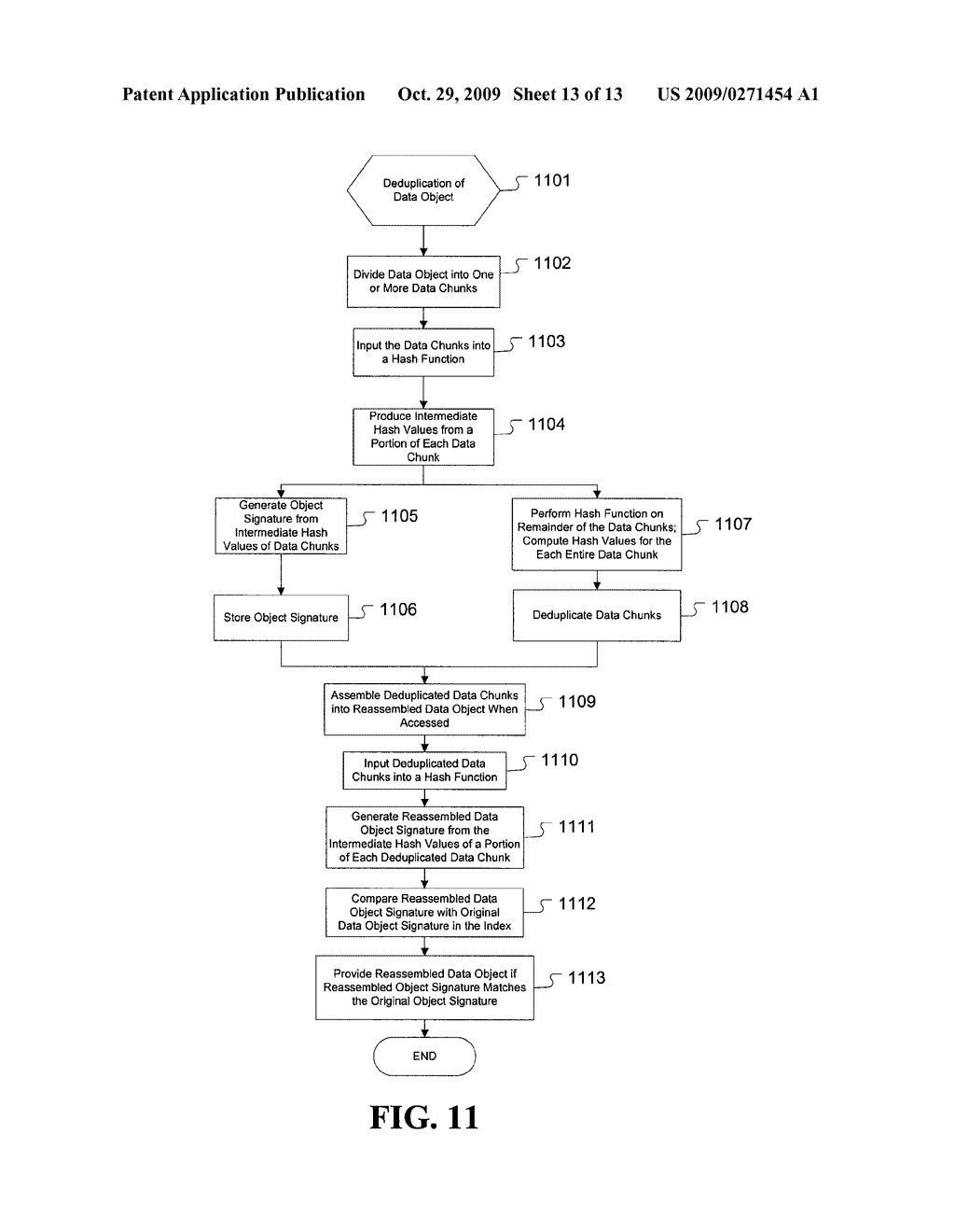 Enhanced method and system for assuring integrity of deduplicated data - diagram, schematic, and image 14
